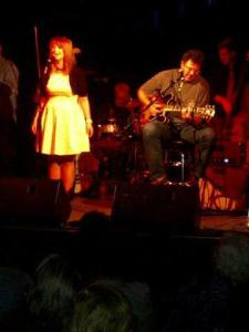 Candice and Vince Gill